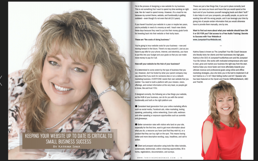 Free Digital Magazine for Women Entrepreneurs on a Mission to THRIVE!