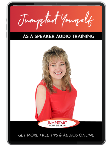 Jumpstart Yourself as a Speaker