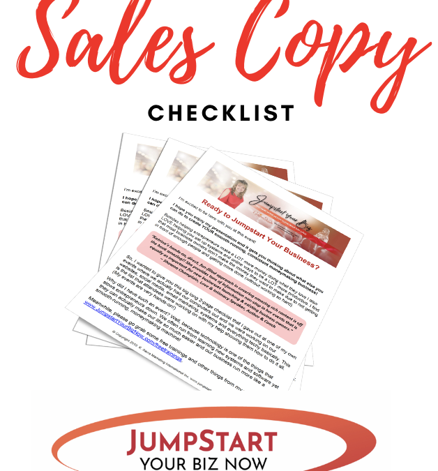 Sales page website copy tips… convert more online easily!